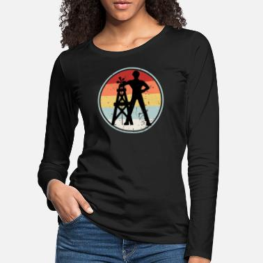 Driller Driller RETRO COLLECTION - Women's Premium Longsleeve Shirt