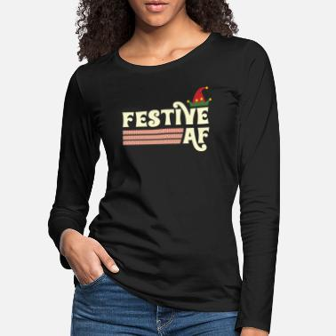 Feast Day Happy as hell - Christmas - winter - Women's Premium Longsleeve Shirt