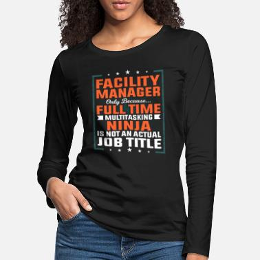 Plant Facility manager profession employee gift idea - Women's Premium Longsleeve Shirt