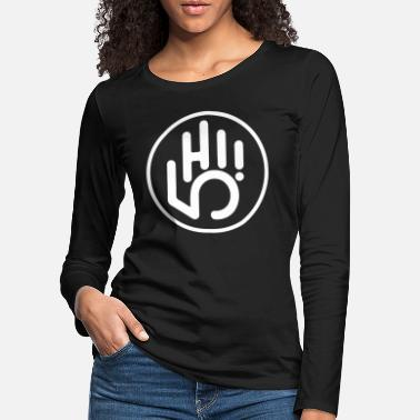 Stempel High Five - Premium langærmet T-Shirt dame