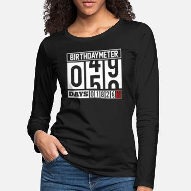 Reminder Birthday reminder - Women's Premium Longsleeve Shirt