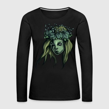 Nature Girl - Women's Premium Longsleeve Shirt