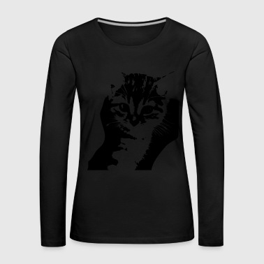 cat - Women's Premium Longsleeve Shirt