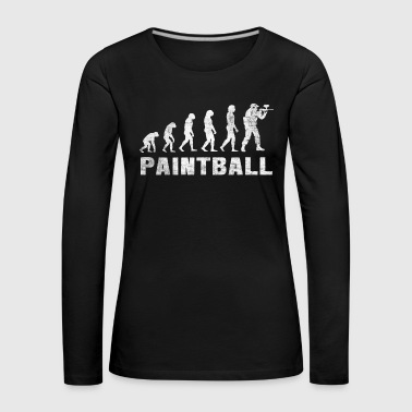 Evolution Paintball Shirt - Paintball T-Shirt - Frauen Premium Langarmshirt