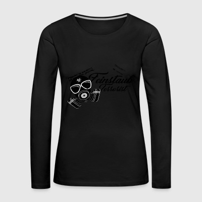 Particulate matter of the green enemy of the tuner friend - Women's Premium Longsleeve Shirt