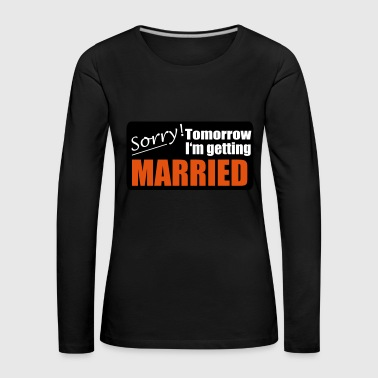2541614 14612954 married - Frauen Premium Langarmshirt