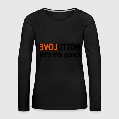 2541614 14850908 evolution - Women's Premium Longsleeve Shirt