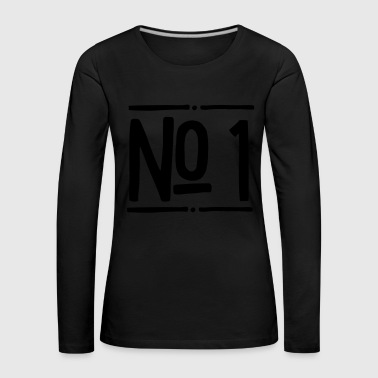 2541614 15757991 no 1 - Women's Premium Longsleeve Shirt