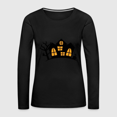 haunted House - Camiseta de manga larga premium mujer