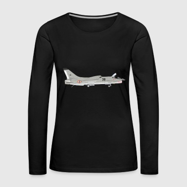 fighter jet - Women's Premium Longsleeve Shirt