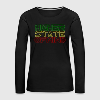 Higher State Of Mind - Women's Premium Longsleeve Shirt