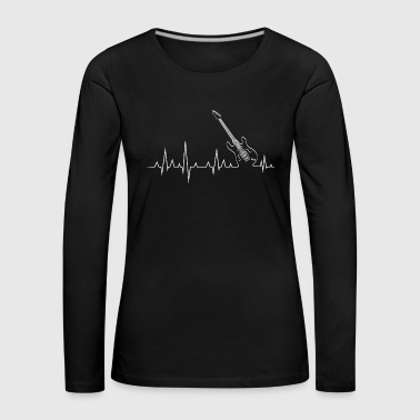 Heart of guitar - Women's Premium Longsleeve Shirt