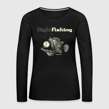 night fishing - Frauen Premium Langarmshirt