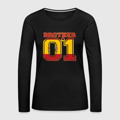brother brother brother 01 partner Spain - Women's Premium Longsleeve Shirt