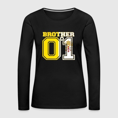 brother brother brother 01 partner Vatican City - Women's Premium Longsleeve Shirt