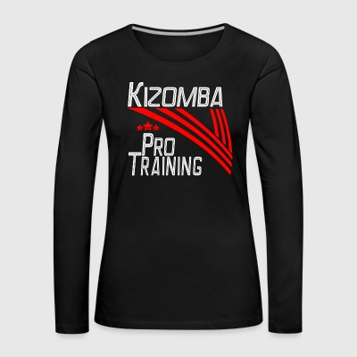 Kizomba Pro Training white - Pro Dance Edition - Women's Premium Longsleeve Shirt