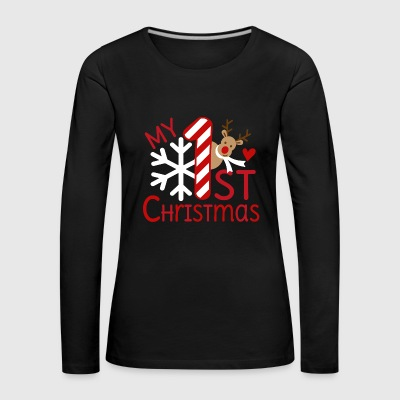 My first Christmas - Women's Premium Longsleeve Shirt