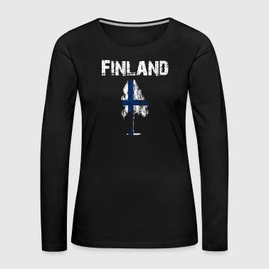 Nation-Design Finland Birch - Women's Premium Longsleeve Shirt