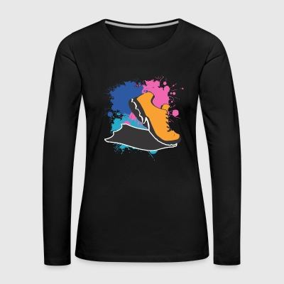 to jog - Women's Premium Longsleeve Shirt