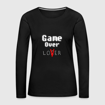 Game over lover w - T-shirt manches longues Premium Femme