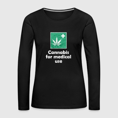Cannabis for medical use - Women's Premium Longsleeve Shirt