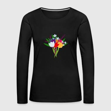 Bouquet of tulips - Women's Premium Longsleeve Shirt