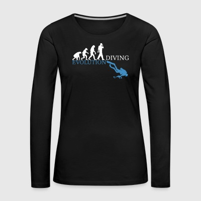 Evolution Diving - Frauen Premium Langarmshirt