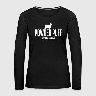Powder Puff whatelse - Premium langermet T-skjorte for kvinner