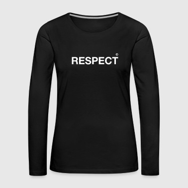 respect demo school teacher typo request proud - Women's Premium Longsleeve Shirt