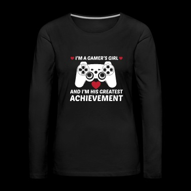 I am a player girl .. gift! - Women's Premium Longsleeve Shirt
