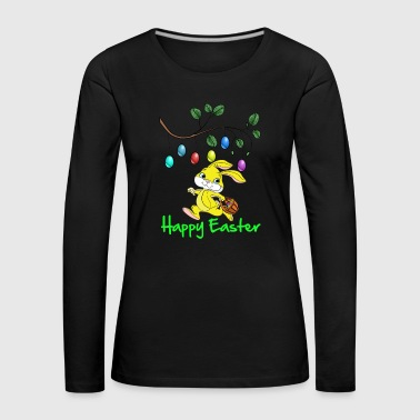 Easter Easter, happy easter, easter bunny, happy easter - Women's Premium Longsleeve Shirt