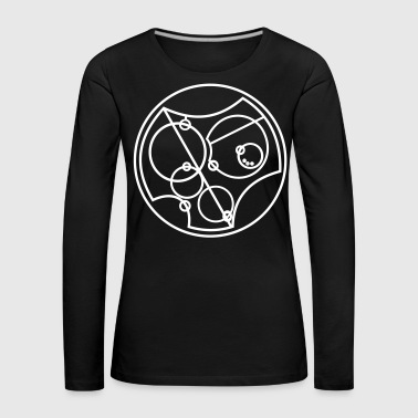 I Love You Gallifreyan - Women's Premium Longsleeve Shirt