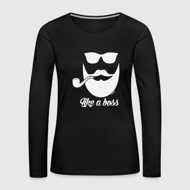As a boss (H) - Women's Premium Longsleeve Shirt