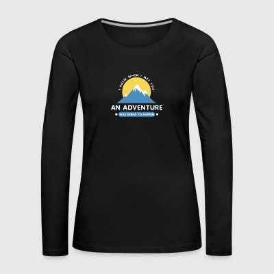 mountains - Women's Premium Longsleeve Shirt
