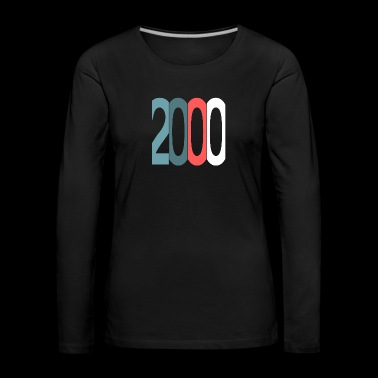 Established 2000 - Frauen Premium Langarmshirt