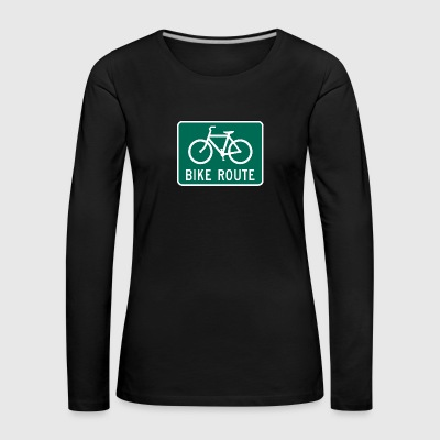 BIKE COLLECTION - Vrouwen Premium shirt met lange mouwen