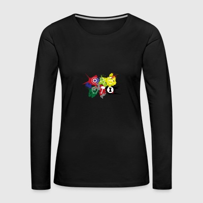 Superhero Team - Women's Premium Longsleeve Shirt