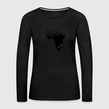 Flying / Africa - Women's Premium Longsleeve Shirt