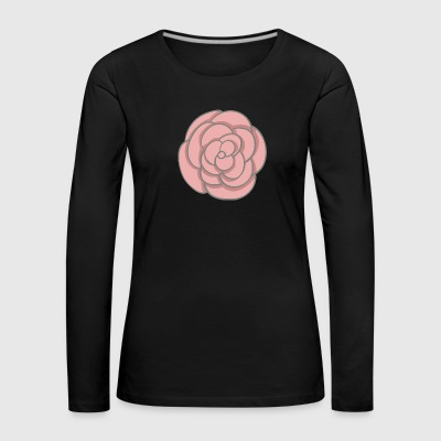 rose - Women's Premium Longsleeve Shirt
