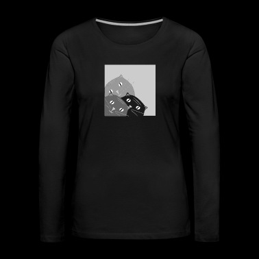 inclined cat - Women's Premium Longsleeve Shirt