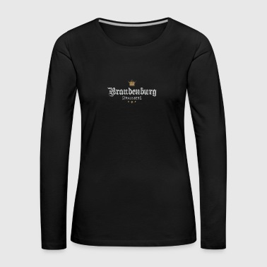 Strausberg Allemagne - T-shirt manches longues Premium Femme