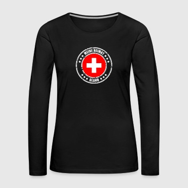 MY HOME GLAND - Women's Premium Longsleeve Shirt