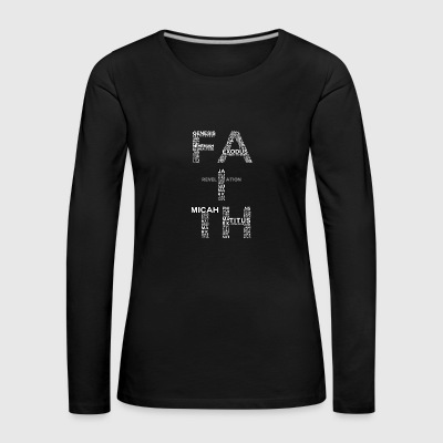 Faith - Faith - Women's Premium Longsleeve Shirt