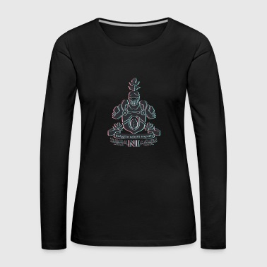 Knight with shield - Women's Premium Longsleeve Shirt