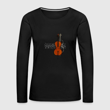 Cello Design 2 bright - Women's Premium Longsleeve Shirt