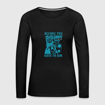 Dog shoots - Women's Premium Longsleeve Shirt