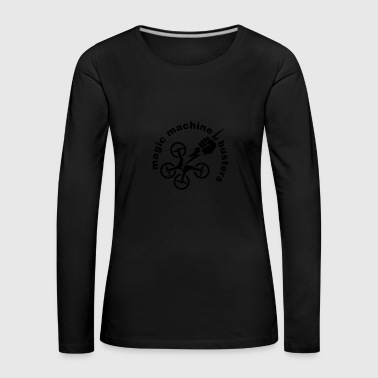 magic machine busters - Women's Premium Longsleeve Shirt