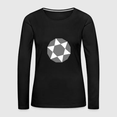 6061912 119292295 Diamond - Women's Premium Longsleeve Shirt