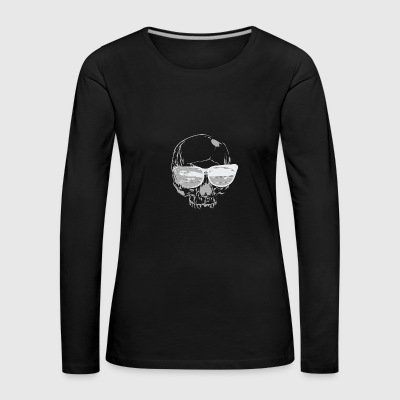 Vacation Skull 2 - Women's Premium Longsleeve Shirt