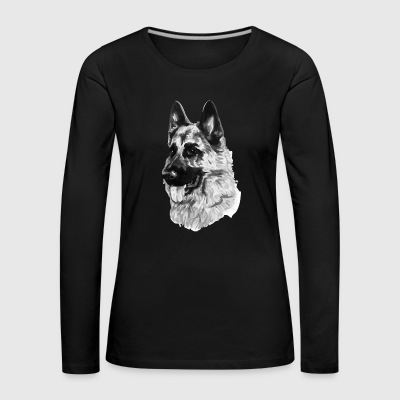 German shepherd - Women's Premium Longsleeve Shirt